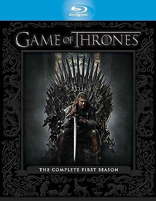GAME OF THRONES Complete HBO TV Series 1 Box Set Collection + Extras New Bluray