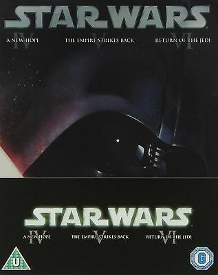 STAR WARS Series 4 - 6 Complete Trilogy Part 4 5 6 Collection Bluray New UK DVD