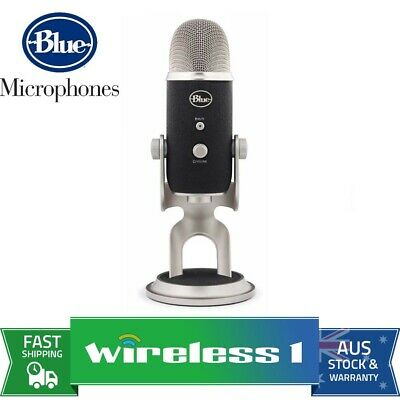 Blue Microphones Yeti Pro USB & Analog Microphone - Silver