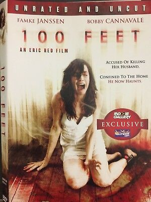 100 Feet (DVD, 2009, Unrated) Rental Exclusive Version