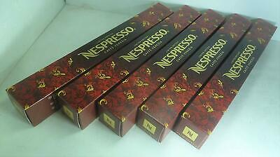 50 Nespresso Limited Edition Original Capsules ISPIRAZIONE SALENTINA (5 Sleeves)