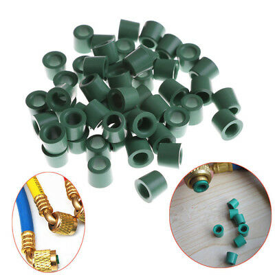 "50pcs A/C 1/4"" Charging Hose Sealing O-ring Rubber Gasket Manifold Repair Tool"