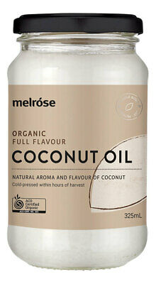 Organic Full Flavour Coconut Oil 380ml - Melrose Health