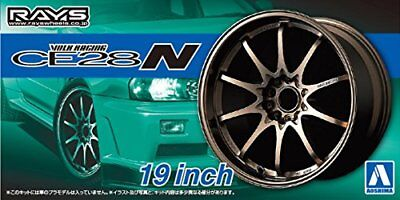 AOSHIMA 1/24 The Tuned Parts Series No.58 Volk Racing CE28N 19 inch parts for pl