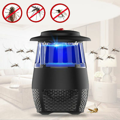 LED Electric Trap Lamp Home Kitchen Indoor Insect Mosquito Fly Killer Bug Zapper