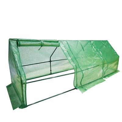 Abba Patio Large Walk-In Greenhouse Fully Enclosed Portable Greenhouse, 9'W x 3D