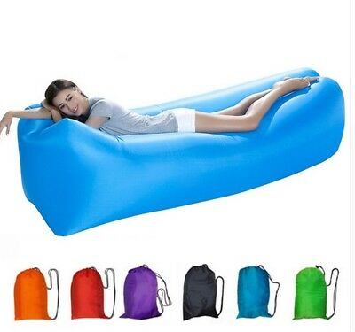 Lazy Air Bag Sofa Luftcouch Luftmatratzen Inflatable Sleepin BAG Camping Sofa