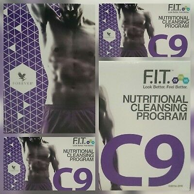 FOREVER LIVING-Clean 9 Pack-9 Day CLEANSING Chocolate / Vanilla