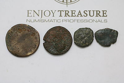 Ancient Greek/roman Empire Old Coins Lot A63 M42