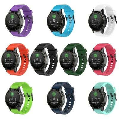 Silicone Replacement Quick Install Wrist Band Strap For Garmin Fenix 5S Watch