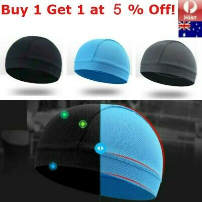 Breathable Skull Cap Helmet Liner Cycling Beanies Outdoor Hats Running Sports