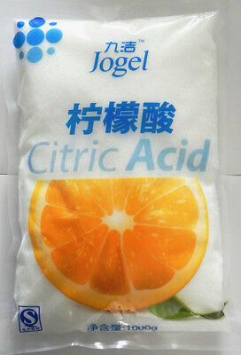 CITRIC ACID 100% PURE Food Grade Anhydrous 1KG HIGHEST QUALITY - Grade A