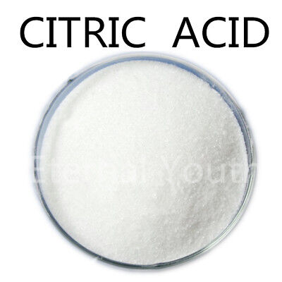100GRAMS CITRIC ACID 100% PURE Food Grade Anhydrous Sealed Bag
