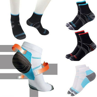 3pcs Foot Compression Socks Arch Pain Plantar Fasciitis Heel Spurs Sport Sock