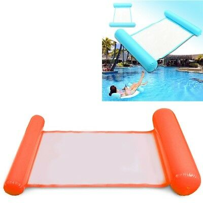 Summer Swimming Pool Water Hammock Floating Chair Floating Bed PVC Swimming A2N4