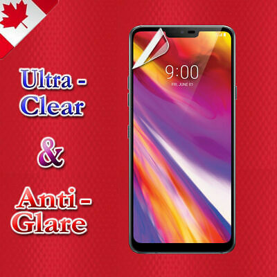 3X Clear & Anti Glare Matte Screen Protector Film Guard For LG G7 / G7 ThinQ