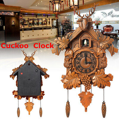 2018 Europea Cuckoo Clock House wall clock large modern art vintage home decor