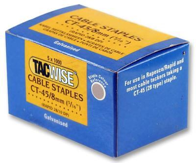 Staples Cable 45/8Mm (Pk 5 000) - 351