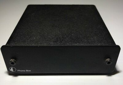 Pro-Ject Audio Systems | Phono Box | Preamplifier | Black