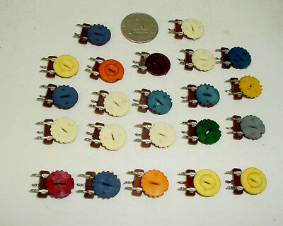 Lot Of 21 CTS Trimmer Potentiometers Pots Resistors Assorted Values