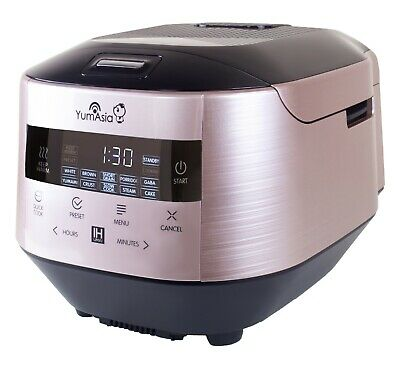 Bamboo UMAI Induction Heating (IH) Ceramic Rice Cooker (YUM-IH15) by Yum Asia