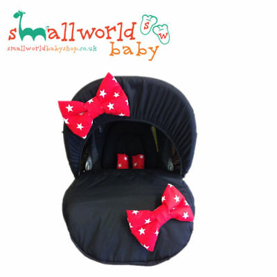 Baby Car Seat Cover Dressing Stage Group 0+ Personalised Boys Girls Universal