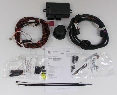 New Genuine Vw Passat B7 Cc 13 Pin Towbar Towing Electrics Wiring Kit + Ecu