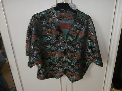 Chinese Pattern Blouse/jacket Hand Made For Aladdin Panto
