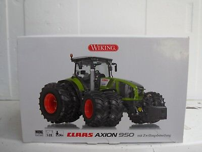 Wiking 1:32 Claas Axion 950 mit Zwillingsbereifung