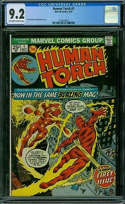Human Torch 1 CGC 9.2 - OW/W Pages