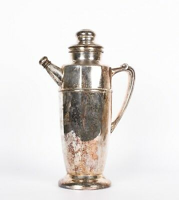 An Early Vintage Silver Plated Cocktail Pitcher