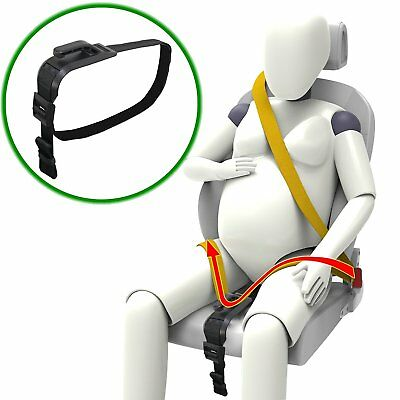 New Baby Bump Seat Belt Pregnancy Car Maternity Miscarriage Safety Mothers Green