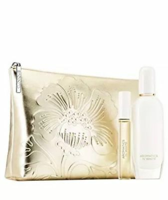 Clinique Aromatics in White Duet Gift Boxed 50ml Parfum and10ml Rollerball