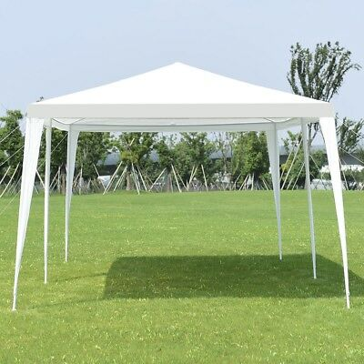 10'x20' Outdoor Gazebo Canopy Wedding Party Tent Sun Shade Shelter Yard Pavilion