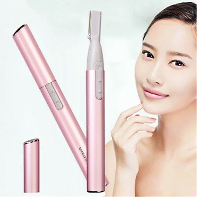 Women Ear Nose Neck Eyebrow Hair Trimmer Groomer Remover Shaving Cutting Machine