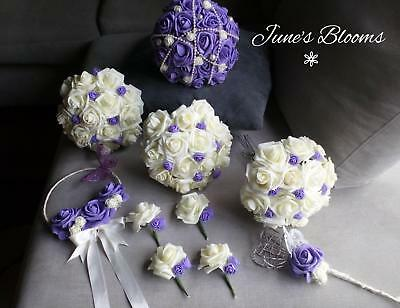 Artificial Wedding bridal flower packages