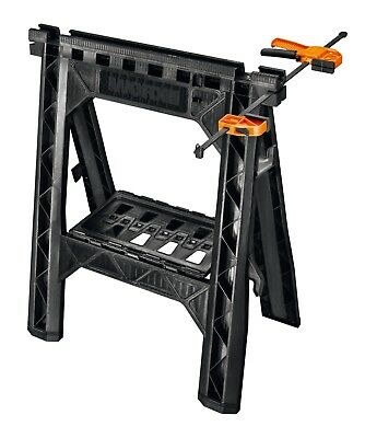 WORX WX065 Clamping DIY Sawhorses with Bar Clamps (Single Unit)