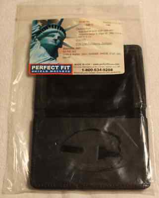 Perfect Fit Shield Book Style Single ID (Style No 100-C/Badge Cut No 248 - NEW)