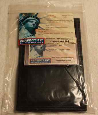 Perfect Fit Shield Recessed Badge Wallet (Style No 105/Badge Cut No 248 - NEW)