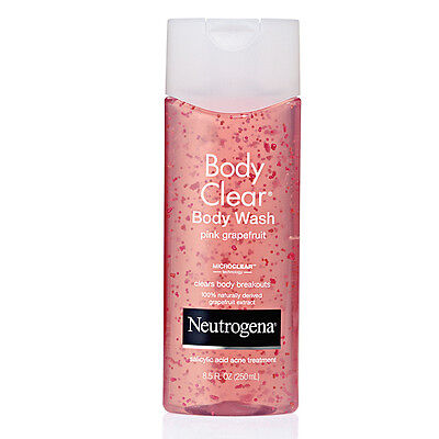 Neutrogena Body Clear Body Wash Pink Grapefruit 8.5oz