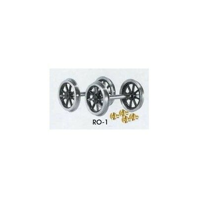 Peco Parkside PS55 Rch Waggon Puffer 4 Packung /'0/' Spur Weißmetall Set