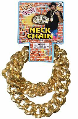 Brand New 80's 90's Big Links Hip Hop Rapper Gold Chain (Gold)