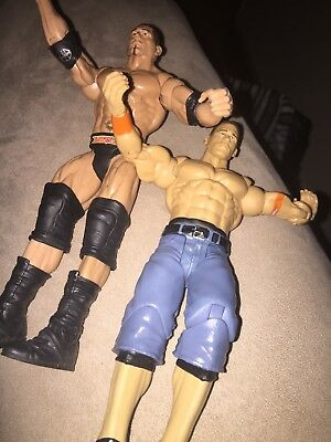 WWE BATISTA VS John Cena Hall Of Champions Elite Battle Pack Exclusive  Figure