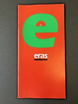 ITC Eras, type specification book, 1979, 32 pages, designed by Albert Boton