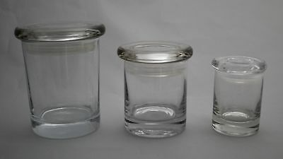 Apothecary Jar- Clear Glass