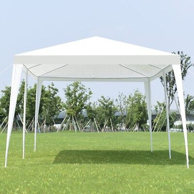 Outdoor 10'x20' Gazebo Canopy Tent Wedding Party Pavilion Sun Shade Shelter Yard