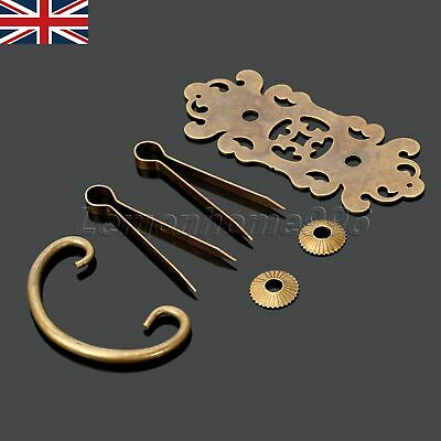 UK STOCK European Engraving Cabinet Dresser Drawer Brass Handle Pull Puller Knob