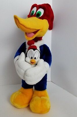 Woody Woodpecker Chilly Willy Walter Lantz 18in Large Plush Stuffed Animal Doll