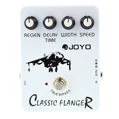 Joyo JF-07 Classic Flanger Guitar Effect Pedal with BBD simulation circuit P2U9