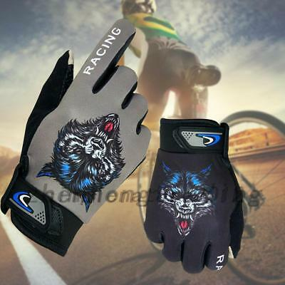 BMX Cycling Bicycle Mountain Bike Touch Screen Gloves Full Finger Race Mittens